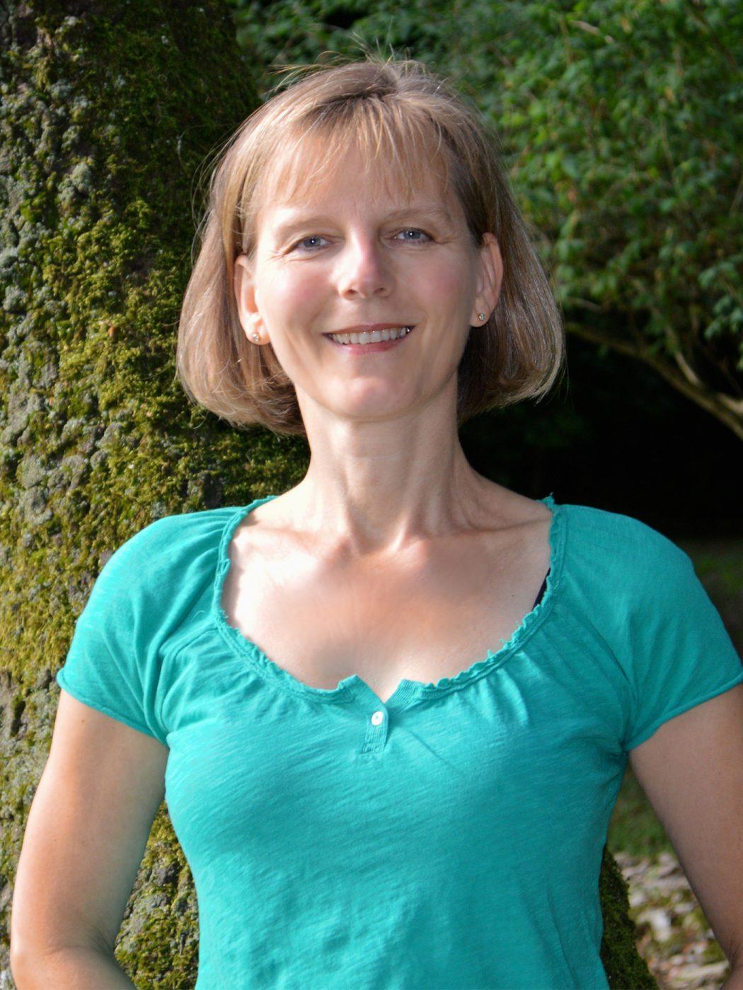 Yogalehrerin Britta Grampp in Lüneburg